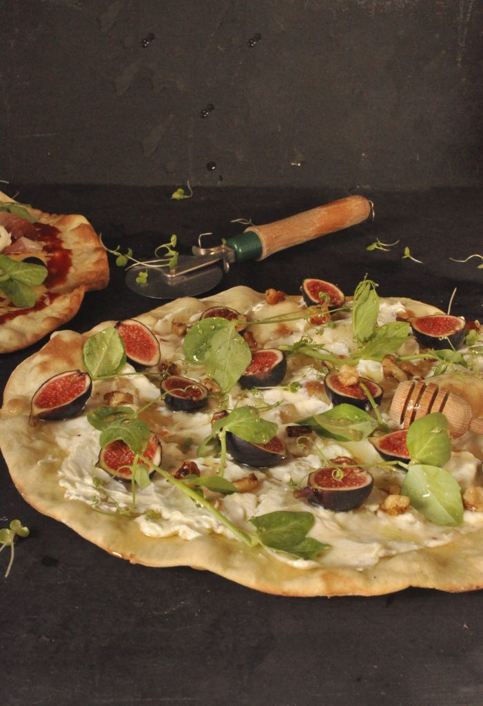Labneh Pizzas