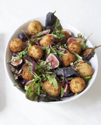 goats cheese fritters