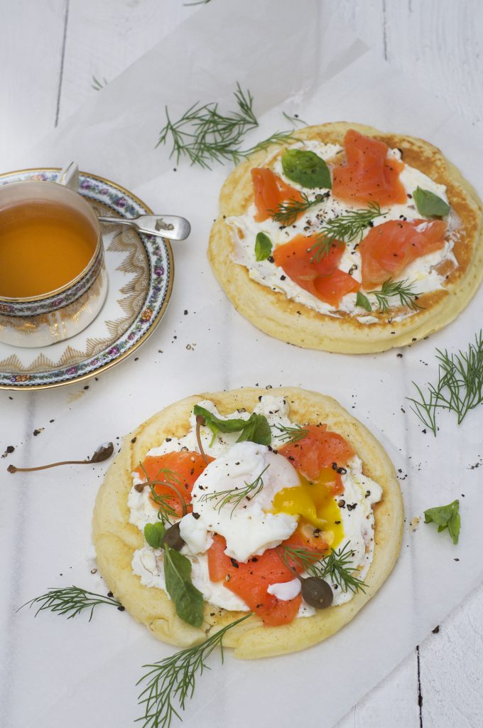 Breakfast Skillet Blinis