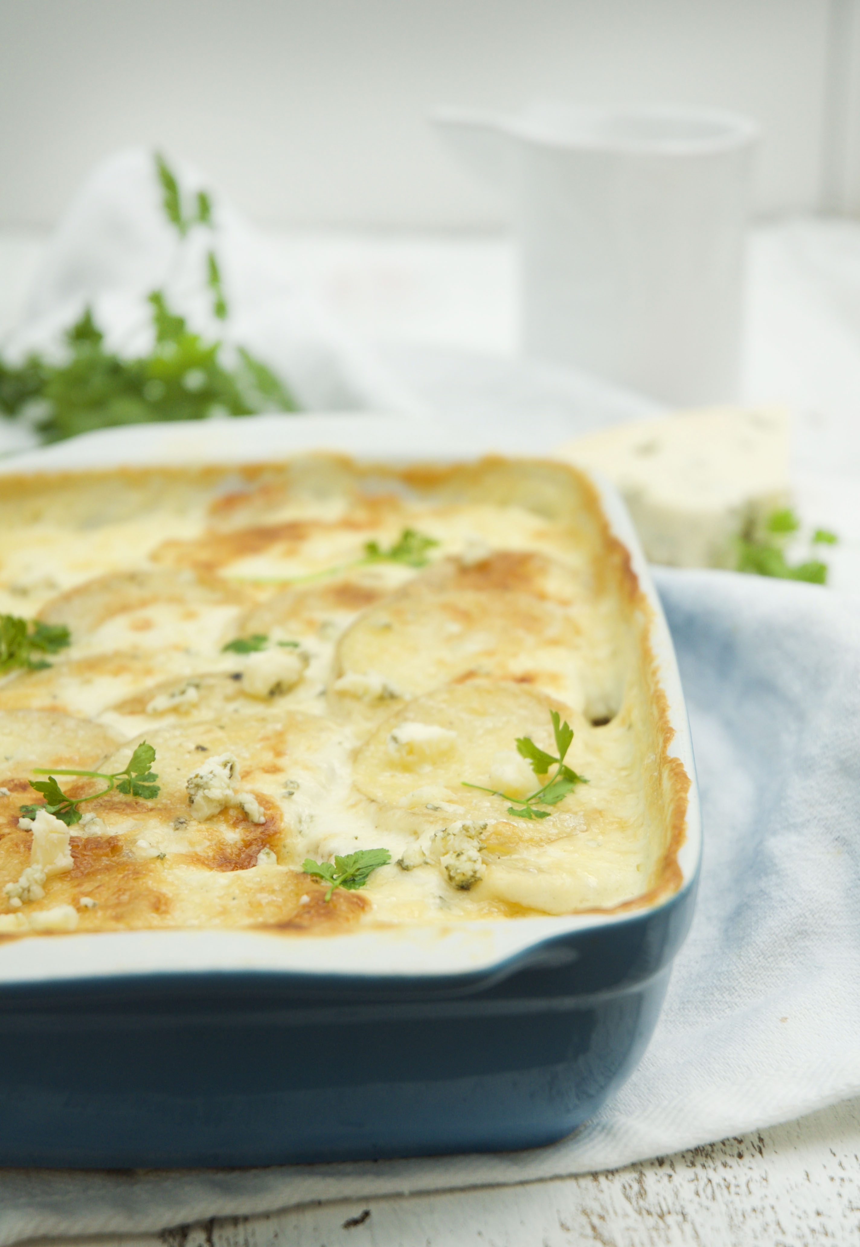 Blue Cheese Potato Bake