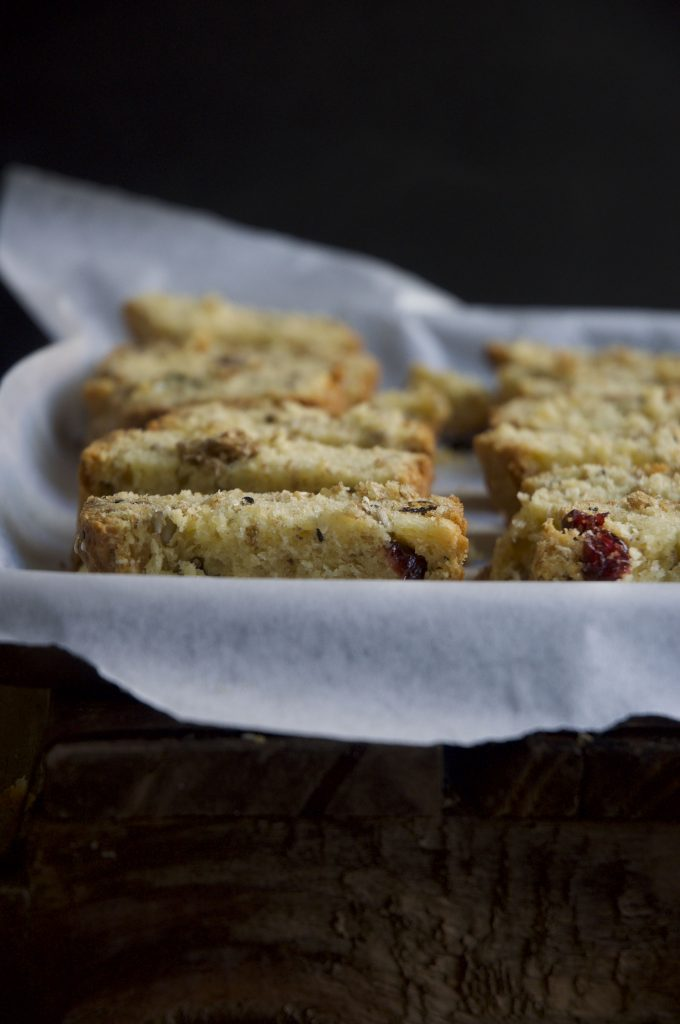 Yogurt Cranberry Seed Rusks
