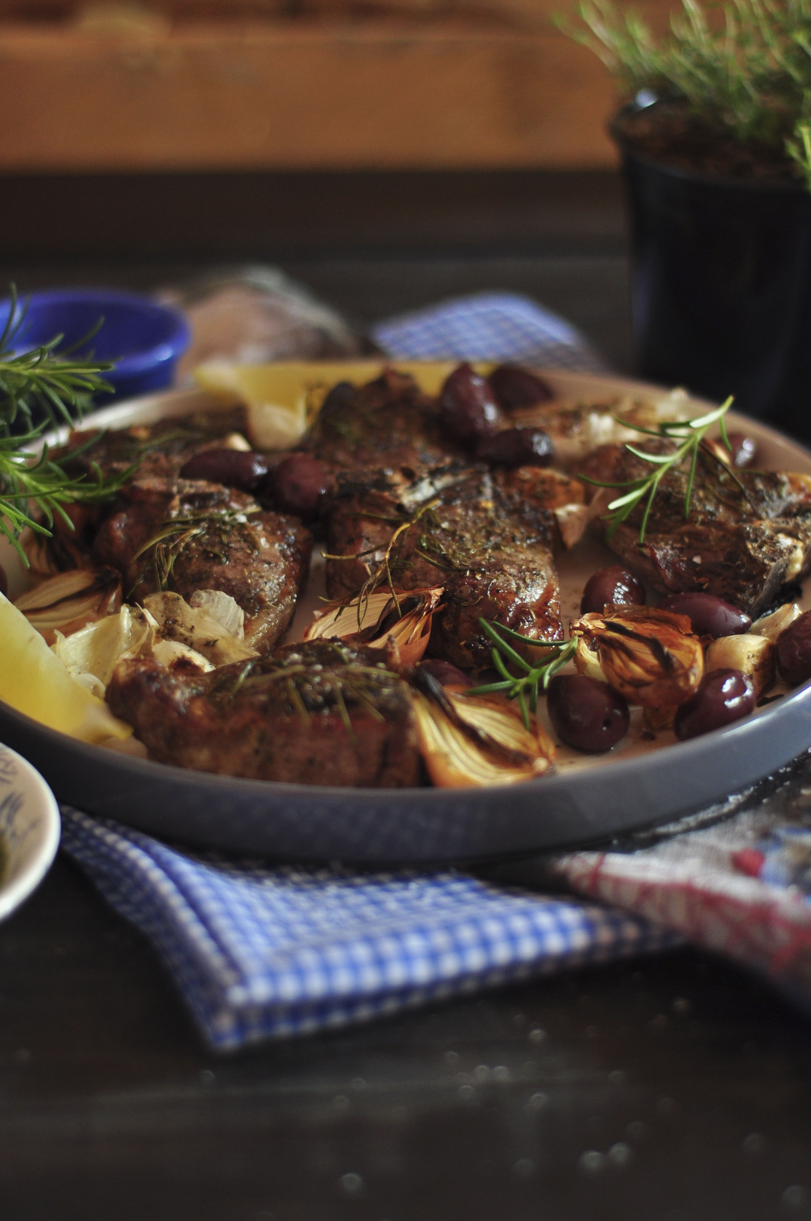 Greek Lamb Chops