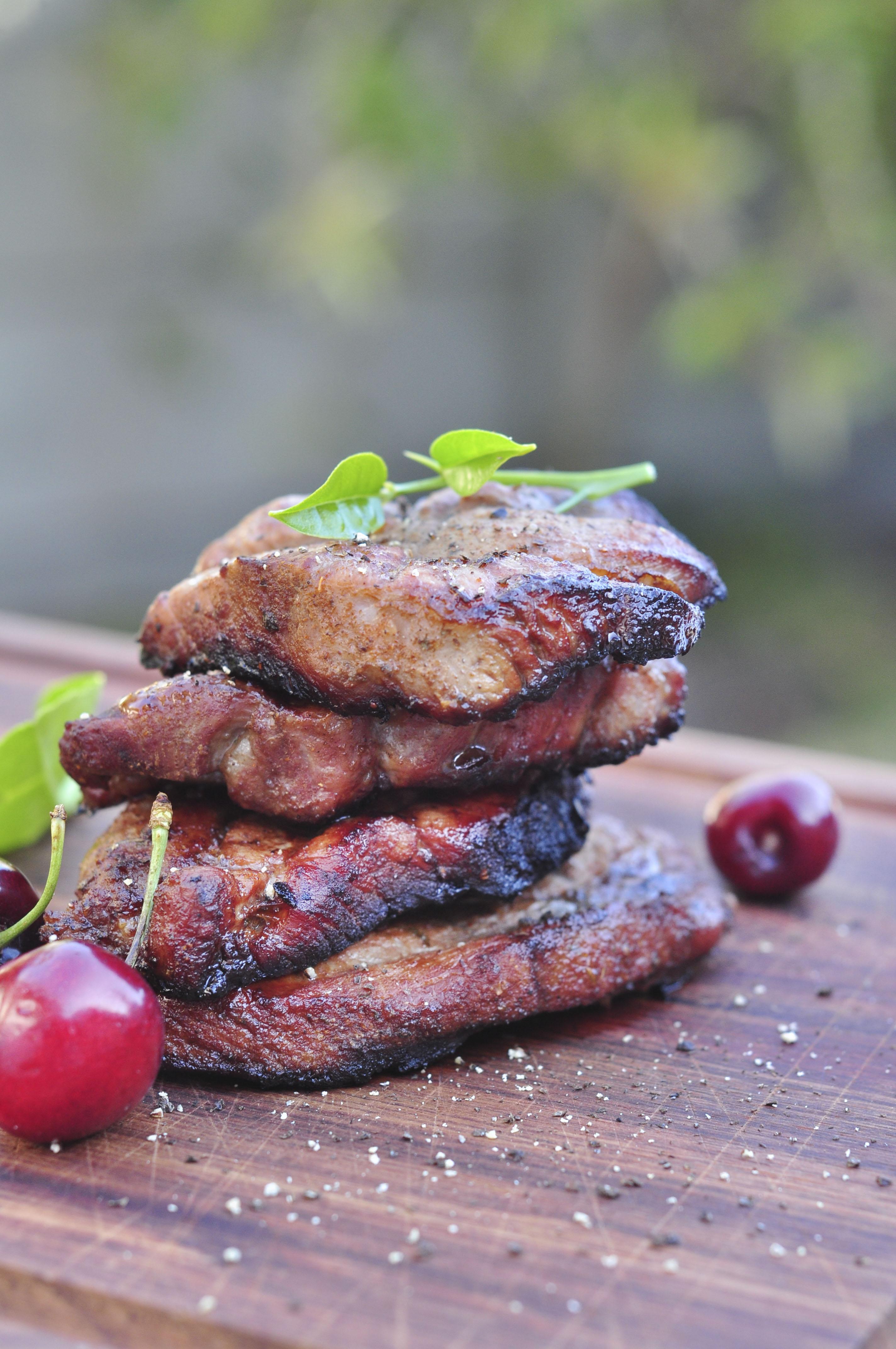 Pork Neck Steaks