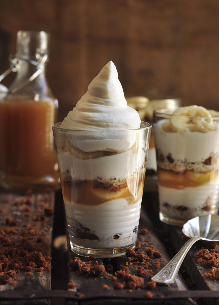 Banana Caramel Pudding