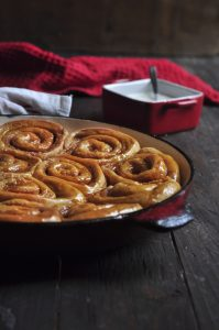 Delicious Pumpkin Cinnamon Rolls