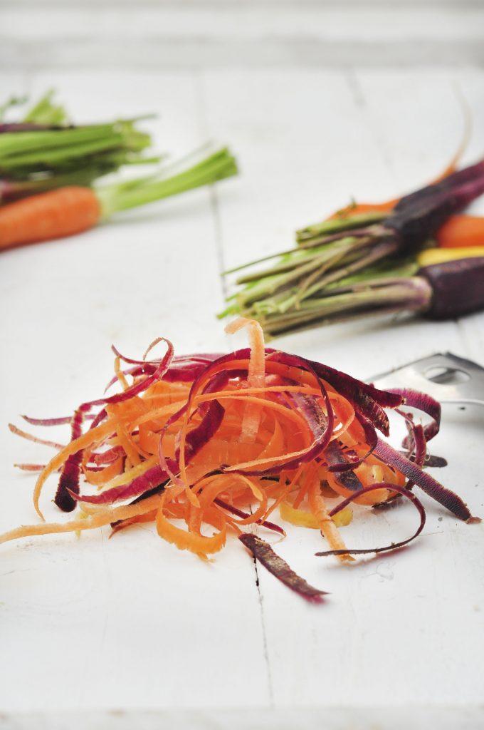 Miso Caramel Carrots