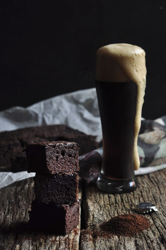 Stout Chocolate Brownies