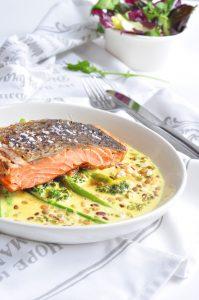 Creamy Salmon Curry