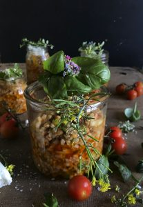 Spicy Wheat Salad