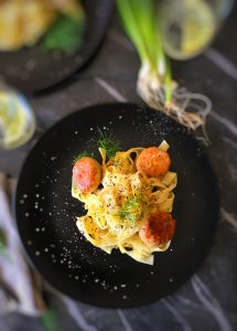Budget Friendly Salmon Pasta