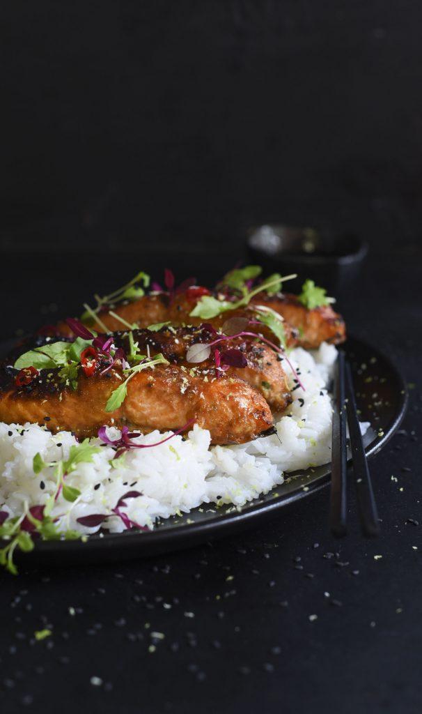 Super Delicious Firecracker Salmon