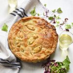 Smoked Mackerel Potato and Leek Pie