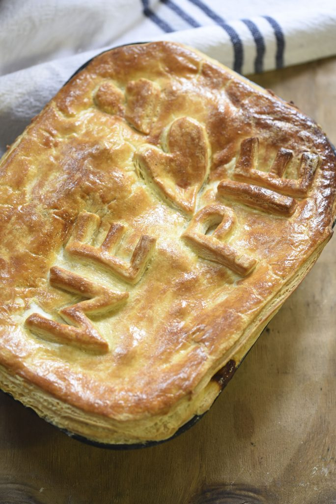 Hearty Beef and Mushroom Pie