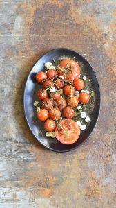Ottolenghi's Charred Cherry Tomatoes