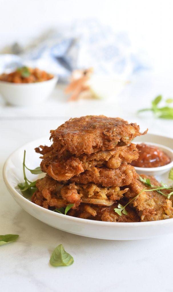 Onion and Vegetable Bhajis