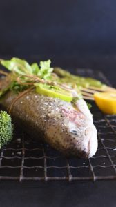 Stuffed Trout for the Grill