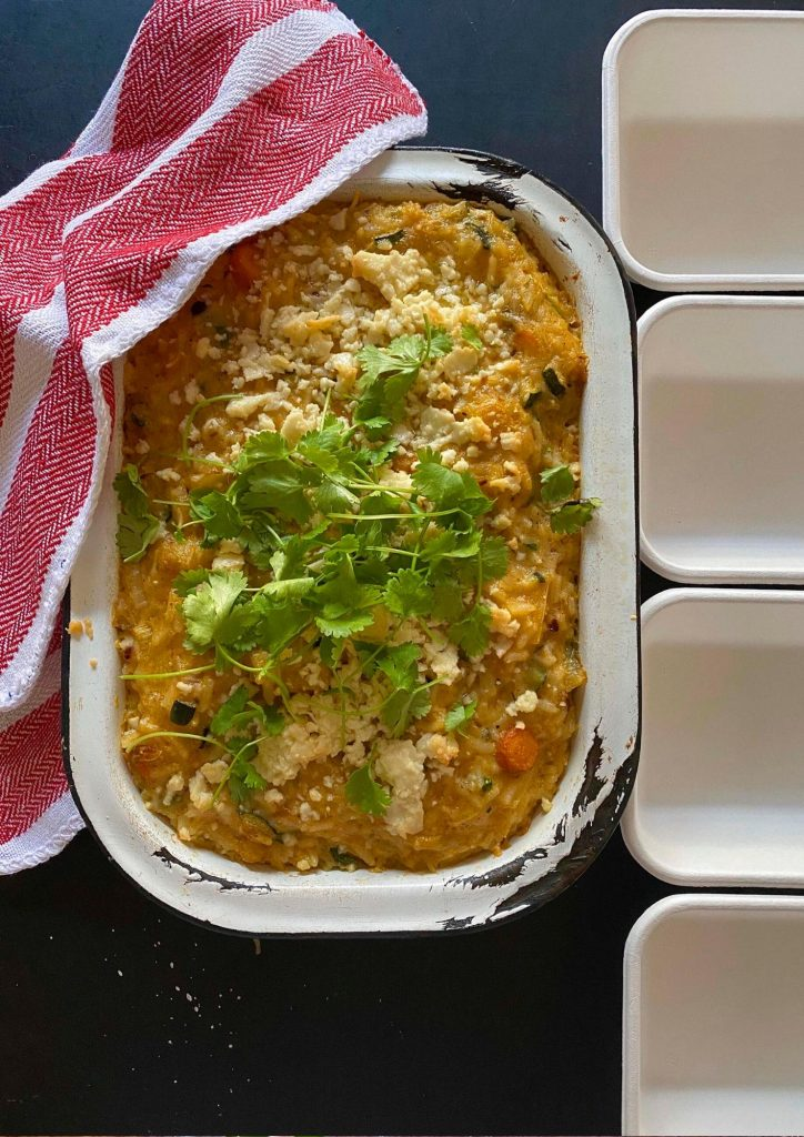 Easy Baked Rice Casserole