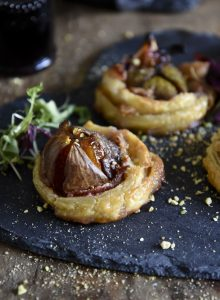 Fig Tartlets - Four ingredients only