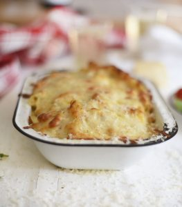 Mac 'n Cheese with Pancetta Crumbs