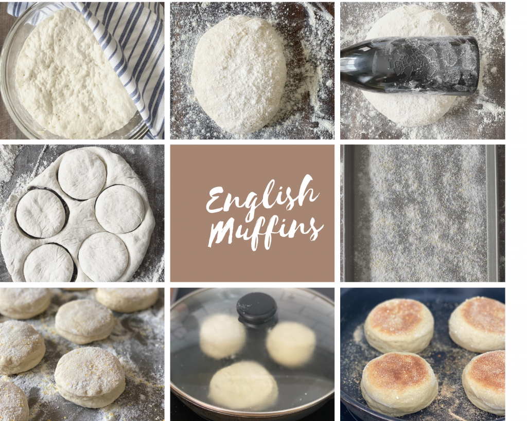 English Muffins Collage