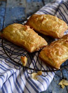 Cheesy BBQ Bean Pies