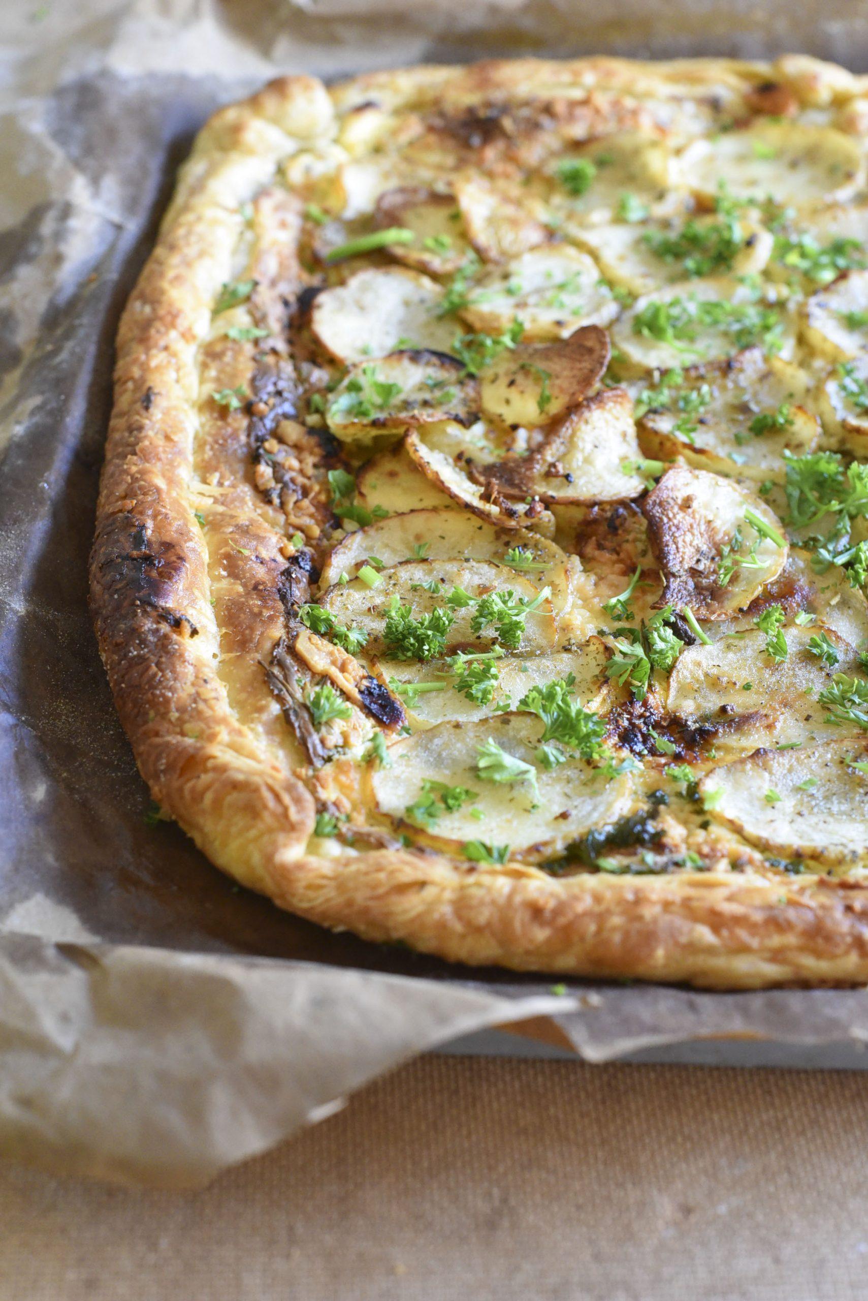 Cheesy Potato Galette