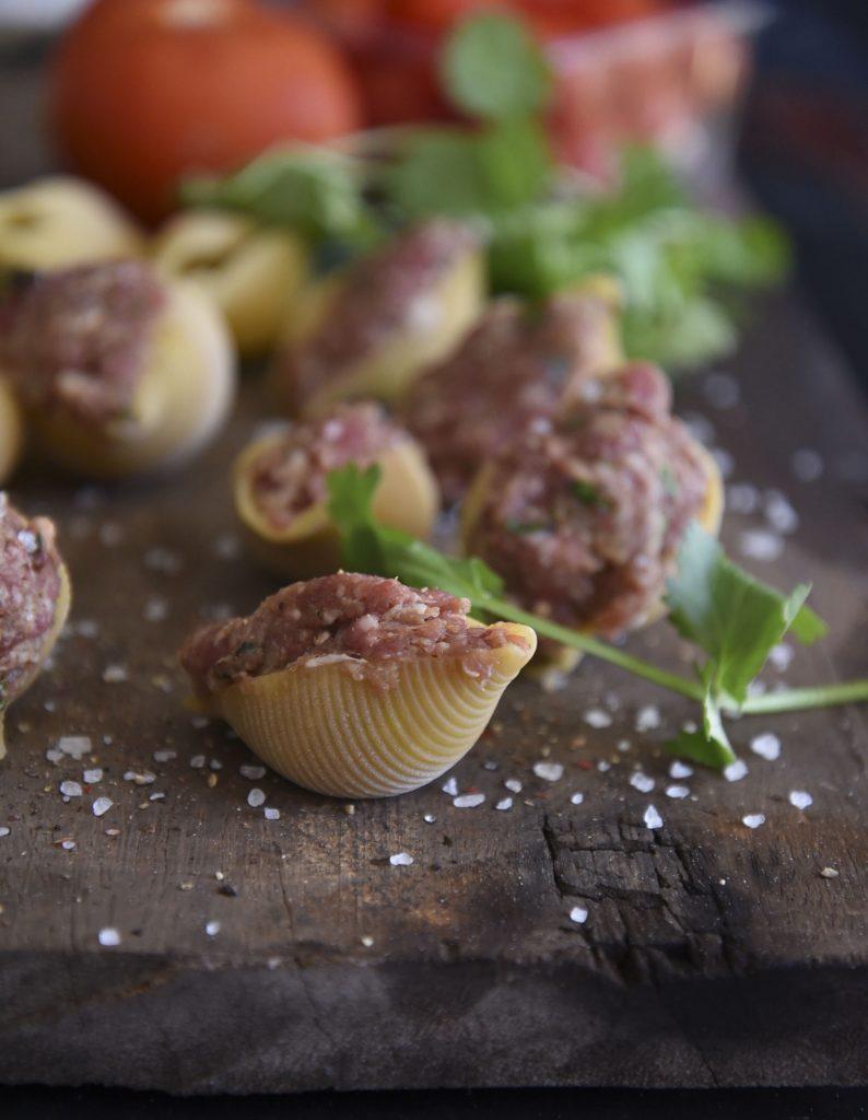 Easy Stuffed Pasta Shells