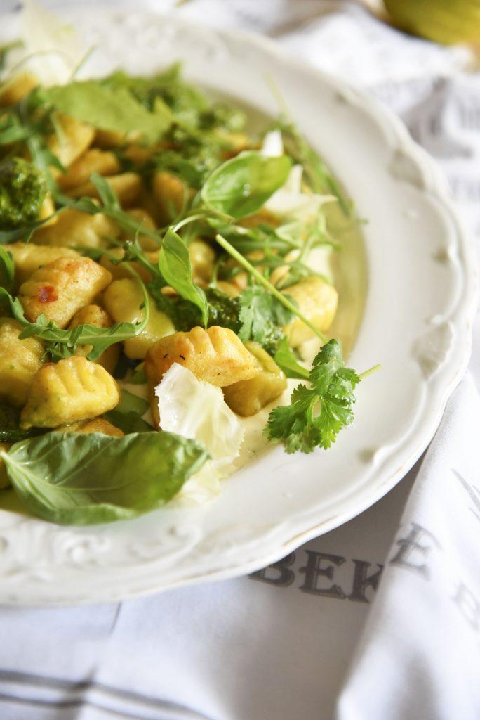 Cauliflower Gnocchi with Pancetta