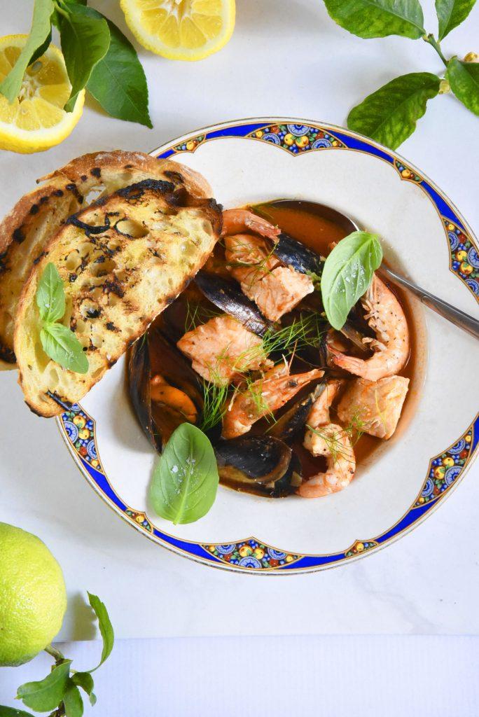 Cioppino or Seafood Soup