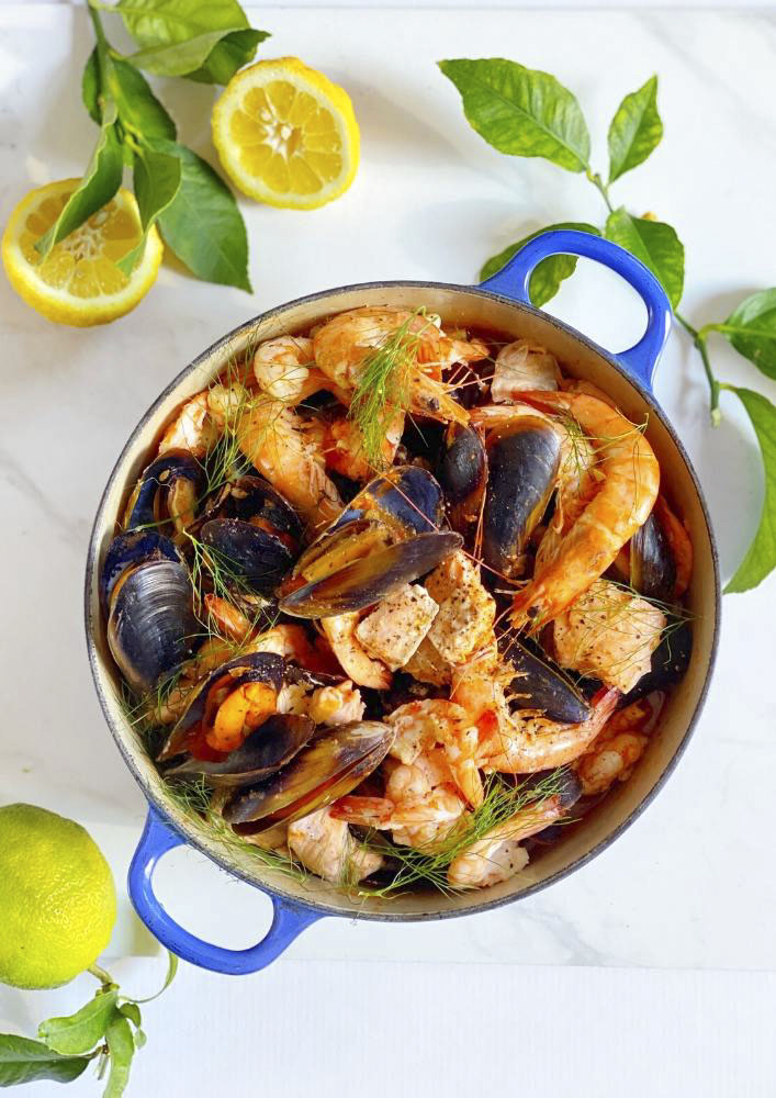 Cioppino or Seafood Soup
