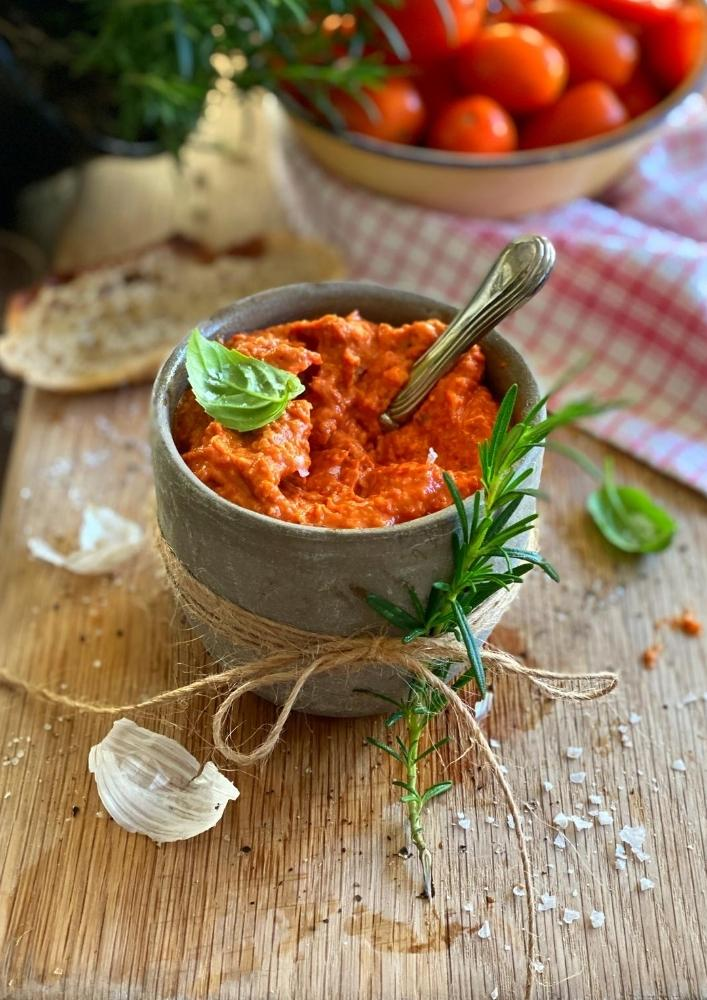 Oven-roasted Tomato Pesto