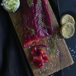 Easy Beetroot and Fennel Trout Gravlax