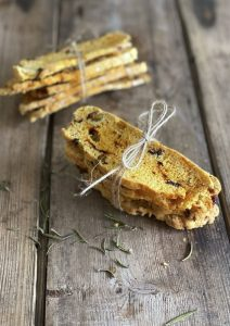 Cranberry Pistachio Cheese Biscotti
