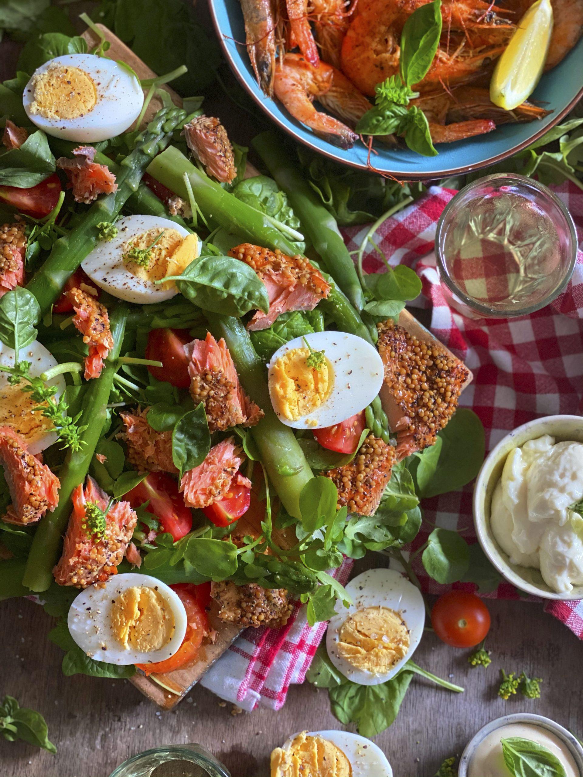 Easy Seafood Share Salad