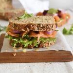 Smoked Trout Wholewheat Sandwich