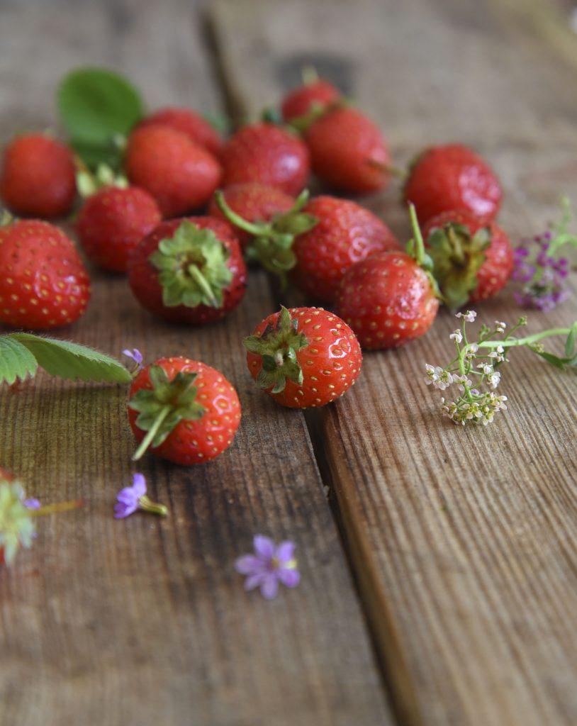 Four Ingredient Strawberry Parfait