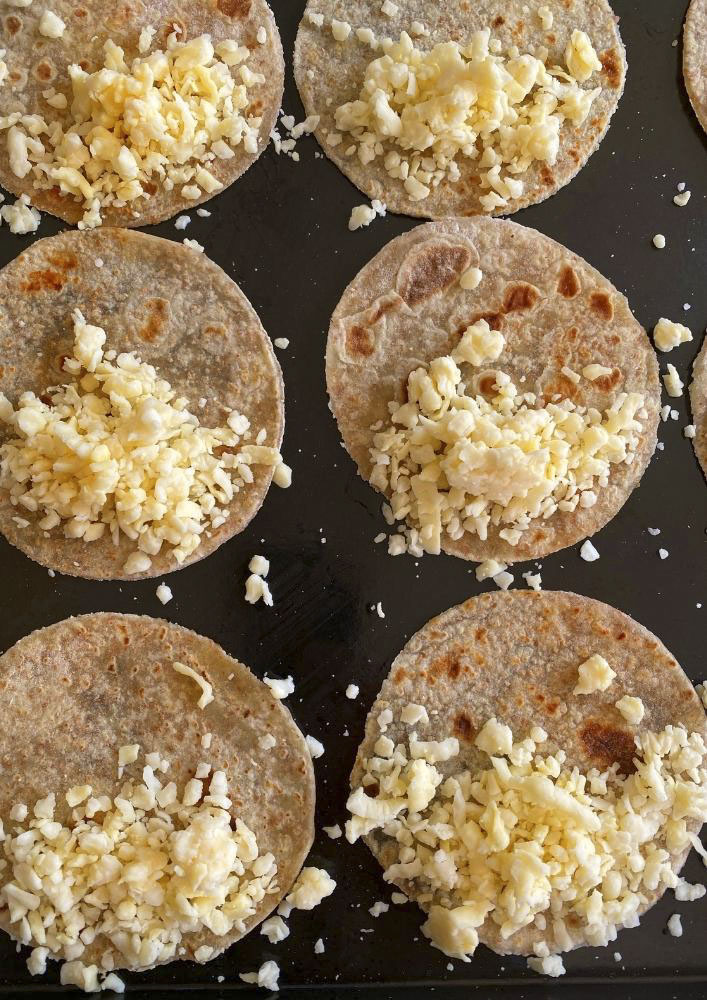 Soft Tacos with Cheese